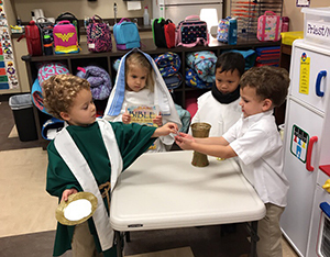 Vocations Day in Pre-K